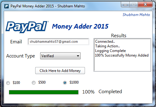 surveys for cash paypal paypal money adder 2015 v 1 0 new no surveys no password 934